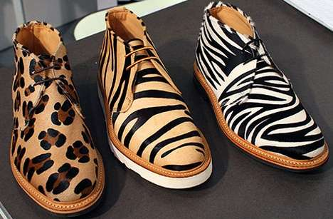 Fierce Animalistic Footwear - The Mark McNairy New Amsterdam Label is Exotic