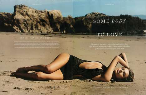 Sand-Sprawling Photo Shoots