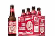 Retro-Modern Beer Packaging - Big Boss Brewing Branding Design by McKinney is a Motley Iconic Mix