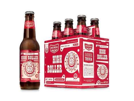 Retro-Modern Beer Packaging