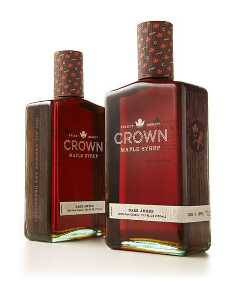 Premium Syrup Branding