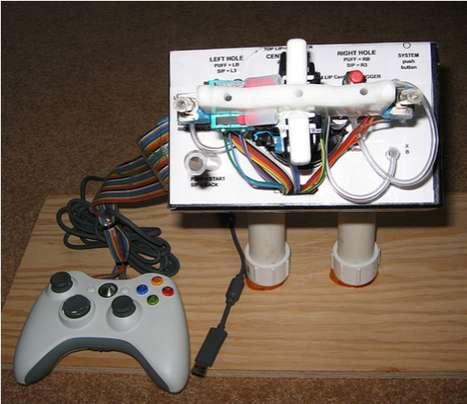 Quadriplegic Gaming Controllers