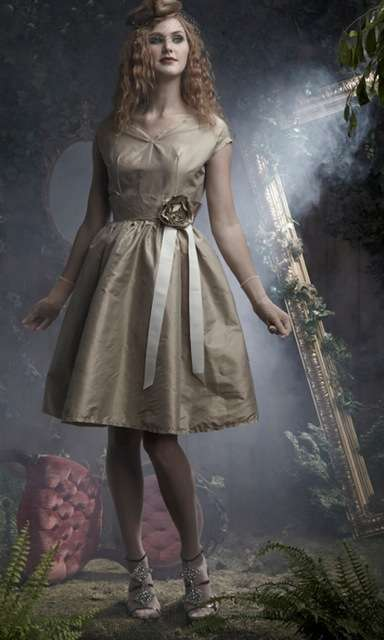 Silky Fair Frocks - Shabby Apple Boutique Releases Green Leaf Line Using Vintage-Inspired Photos