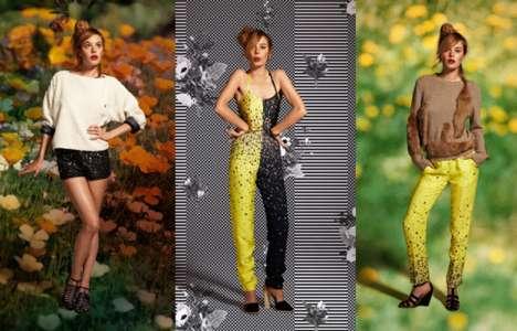 Floral Backdrop Lookbooks