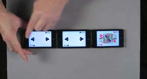 Stunning iPod Illusions - Marco Tempest Creates Virtual Illusions Using a Special iPod App