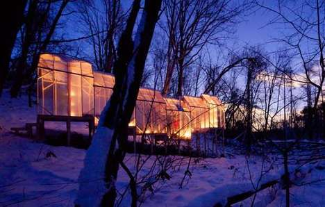 Glowing Translucent Structures