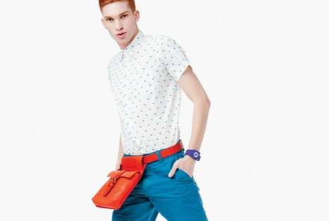 Contrasting Color-Popping Fashion - Bold in 944 Magazine Features Vibrant Color-Blocked Outfits
