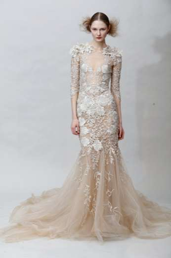 Lovely Lace-Inspired Creations - The Marchesa Fall collection is breathtakingly beautiful