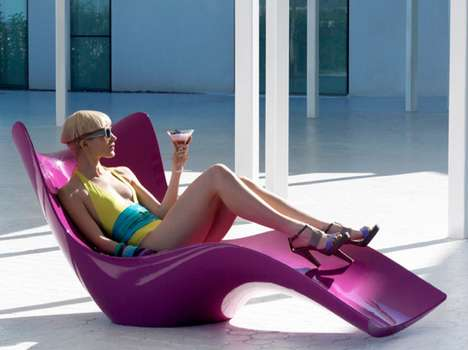 Contemporary Shoehorn Loungers