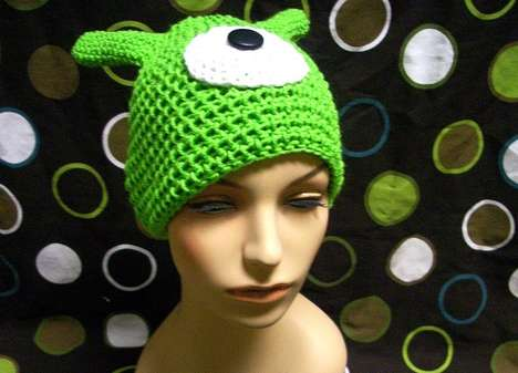Brain Slug Beanies - The Futurama Cyclops Hat is Perfect for Feigning Heteronomy