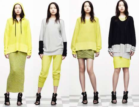 The T by Alexander Wang Resort 2012 Collection is Casual & Chic
