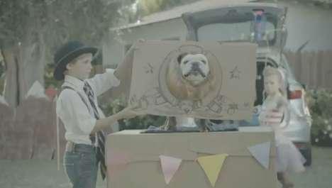 Daring Canine Car Ads