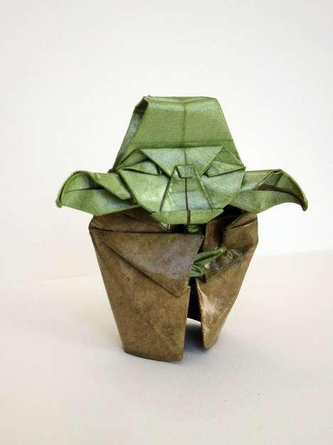 Jedi Master Papercrafts