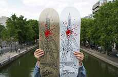 Monstrous Eiffel Tower Decks