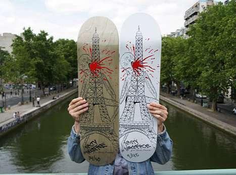 Monstrous Eiffel Tower Decks