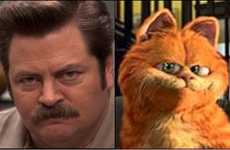 Feline Doppelganger Blogs - The Cats That Look Like Ron Swanson Tumblr Gets You Meowing Out Loud