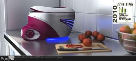 Futuristic Frugivorous Cleaners