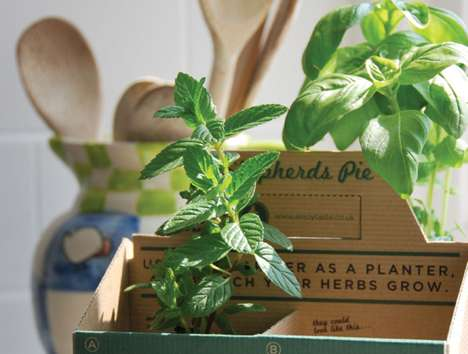 Reusable Package Planters