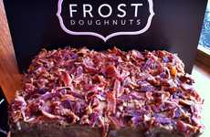 Scrumptious Savory Confections - Frost Doughnuts Mixes the Sweet and Salty for an Epic Cake