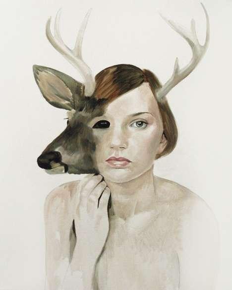 Humanimal Paintings