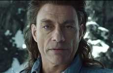 Action Hero Beer Ads - The Coors Light UK Jean Claude Van Damme Commercial Shows His Comedic Chops