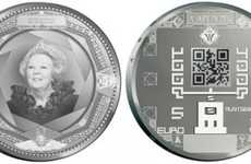 Bar Code Currency - The Dutch Royal Mint Plans to Print the World's First QR Code Coin