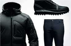 Luxurious Automotive Sportswear - Porsche Design Winter Training Pack Gets You Geared Up for Winter