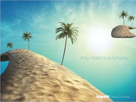 Floating Island Advertising