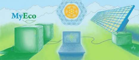 Solar-Powered Web Hosting - MyEco Server Provides Carbon-Free State-of-the-Art Green Data Center