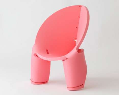 EVA Chair for Kids Employs Just a Single Board and String
