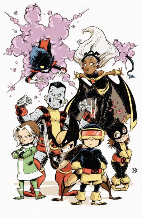 Marvel Infant Mutants