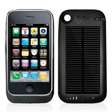Solar Panel Smartphone Chargers