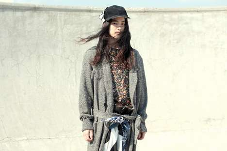 Layered Grunge Fashions