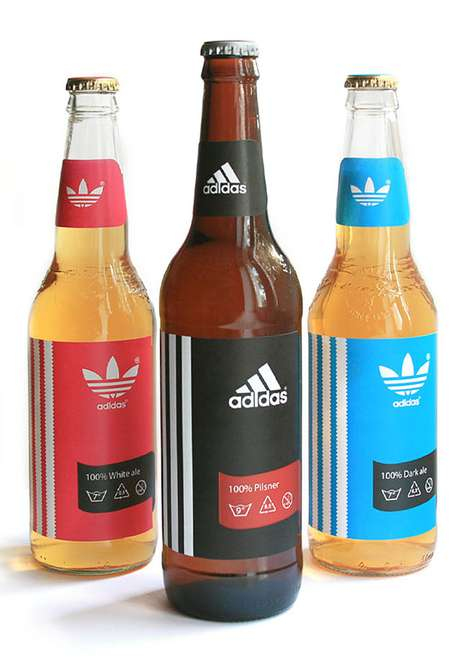 Faux Alcohol Packaging