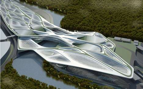 Streamlined Riverside Structures
