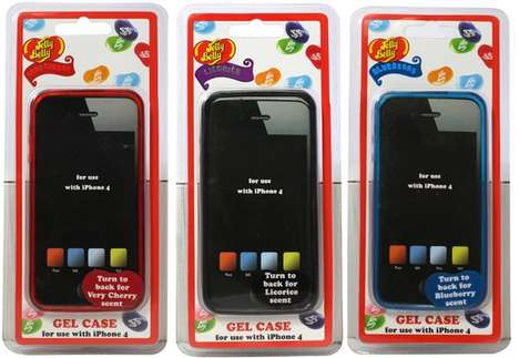 The Jelly Belly Scented Smartphone Cases Flavor Your Phone