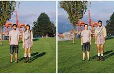 Outfit Trading Shoots - Hana Pesut Photographs Couples Before and After Switching Clothes