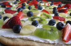 Berry Savory Pizzas - The Fruit Pizza Recipe Combines Healthy & Sweet in One Refreshing Slice