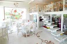 Wedding Planner Restaurants - The Wedding Cafe & Lounge Lets You Plan Your Wedding While You Party