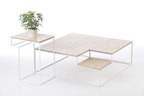 Minimal Multi-Leveled Furniture