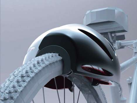 Tire-Clamping Cycle Security