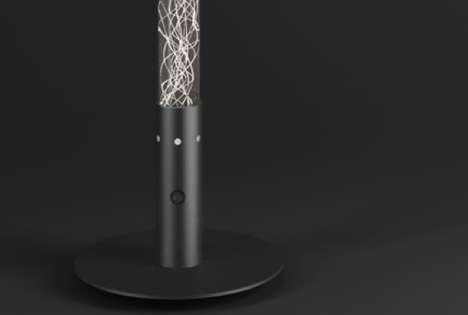 Fibrous Filament Illuminators