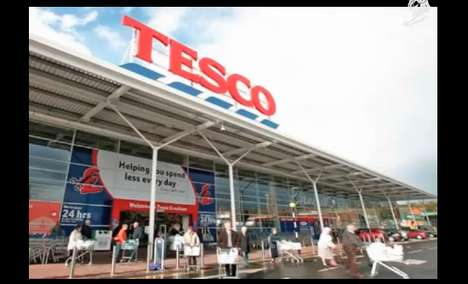 Smartphone Superstores - The Tesco Subway Virtual Store Brings Shopping to Cyberspace