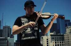 Street-Cred Composers - Josh Vietti Uses His Violin to Give Hip-Hop a Traditional Twist
