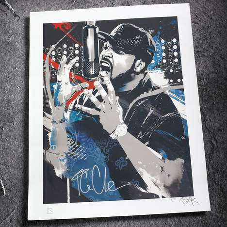 The Ice Cube RareInk Charity Collabo Brings History to Fans