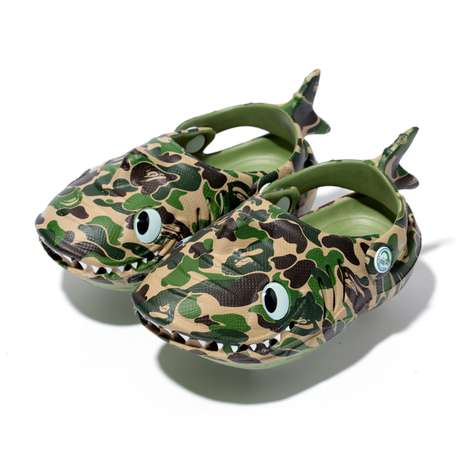 Cutesy Kiddie Reptilian Slippers