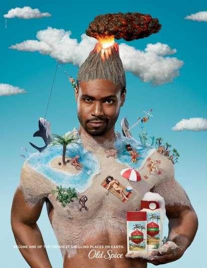 Paradise Deodorant Ads