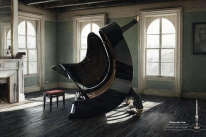 Leg-Lifting Furniture Campaigns