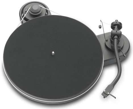 Minimalist Modern Vinyl Players