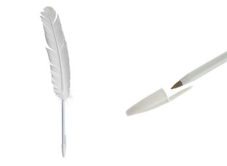 Write 19th Century Style With the Maison Martin Margiela Feather Pen
